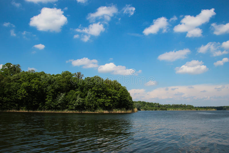 Lago Snagov, Romania fotografia stock