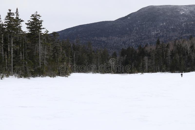 Lago solitário state Park do entalhe de Franconia imagens de stock royalty free