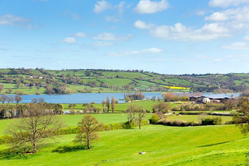Lago Somerset Somerset England Regno Unito Blagdon a sud di Bristol immagine stock