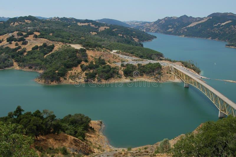Lago Sonoma imagens de stock