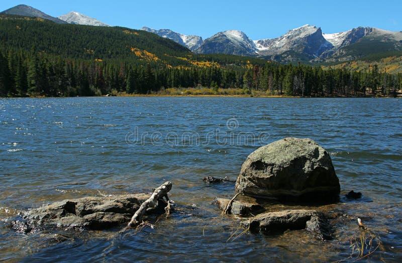 Lago Sprague foto de stock royalty free