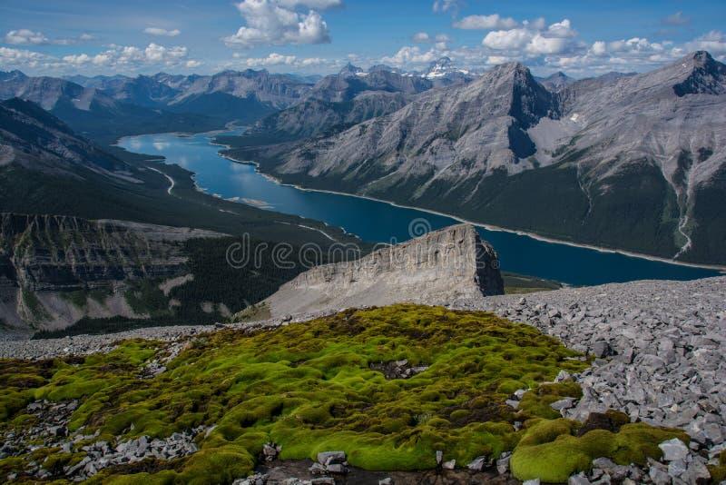 Lago spray imagem de stock