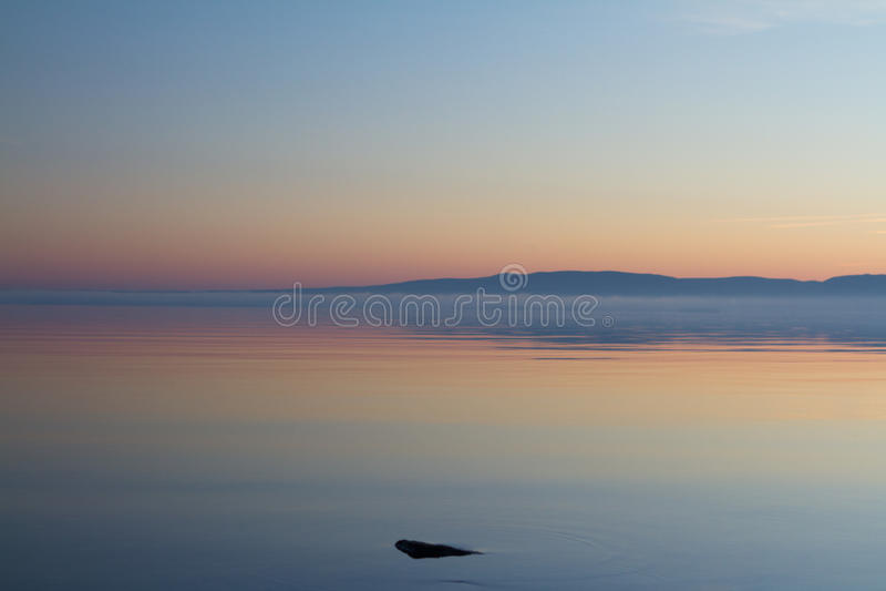 Lago Storsjön imagem de stock royalty free