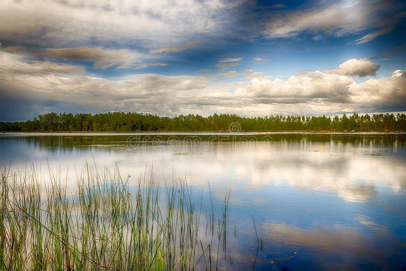 Lago sueco imagens de stock royalty free