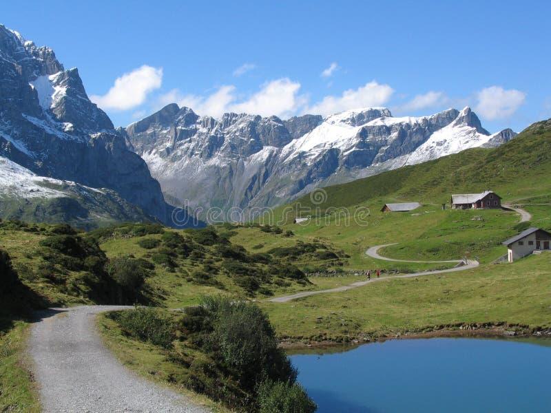 Lago suizo 03 fotografía de archivo libre de regalías