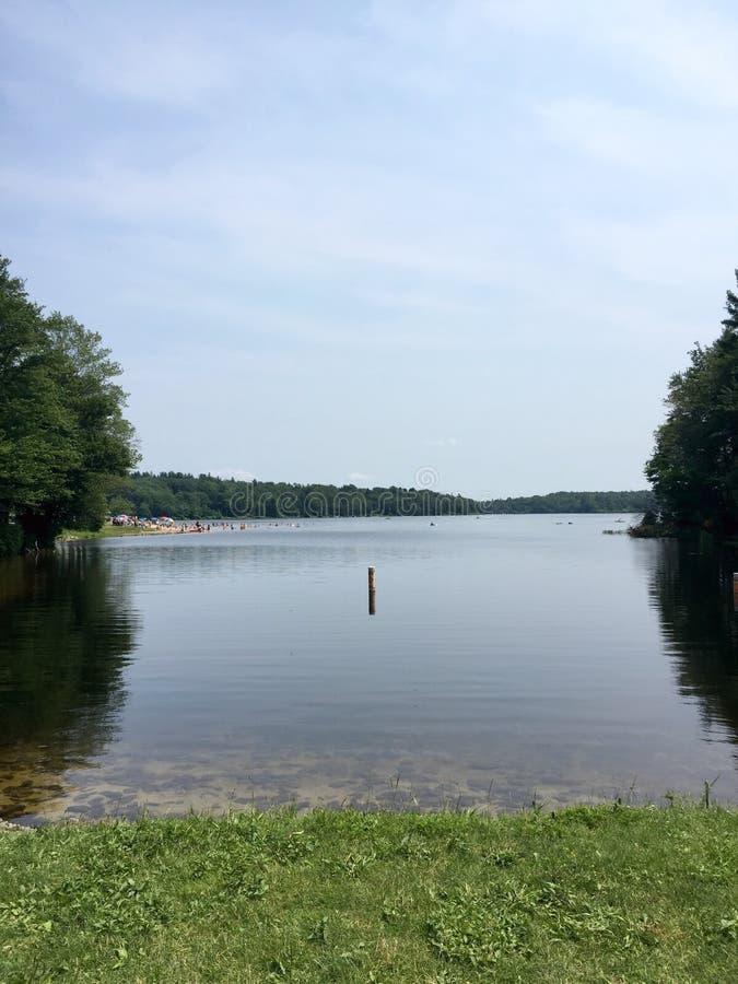 Lago summer fotos de archivo