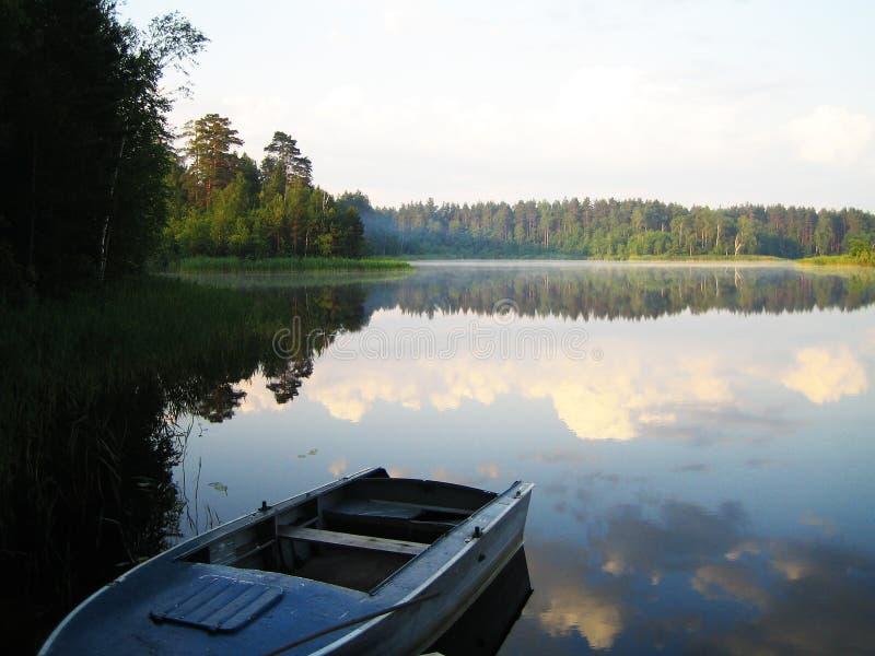 Lago sunshine fotografia stock libera da diritti