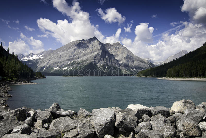 Lago superiore Kananaskis immagine stock libera da diritti