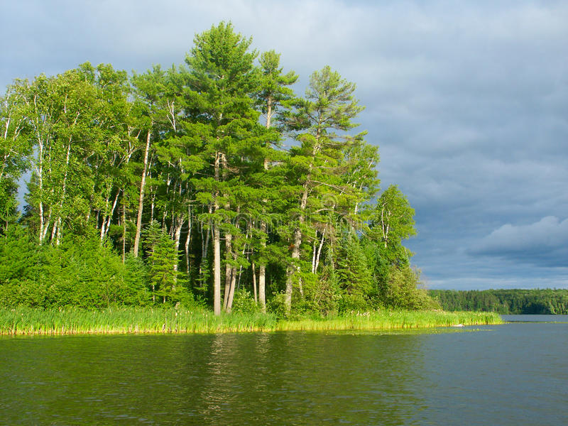 Lago Sweeney - Wisconsin immagine stock