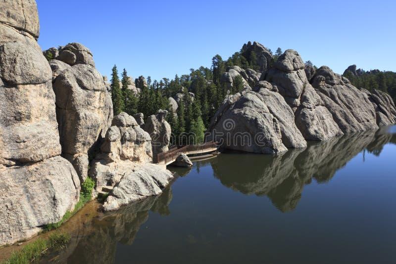 Lago Sylvan fotos de stock royalty free