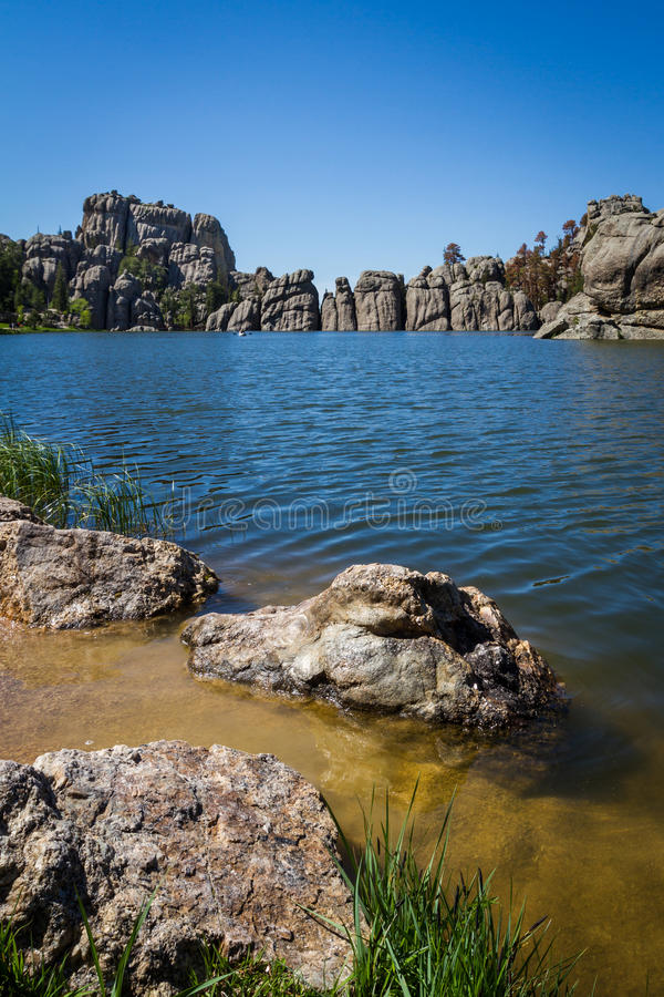 Lago Sylvan imagem de stock