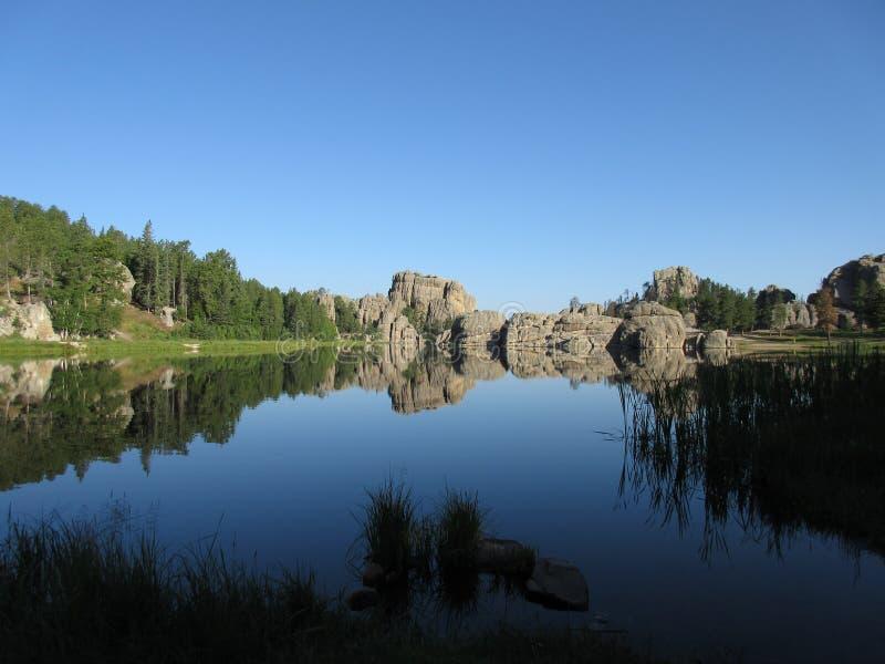 Lago Sylvan foto de stock royalty free