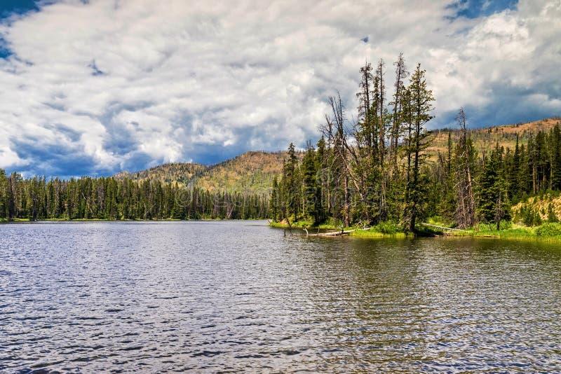 Lago Sylvan imagens de stock