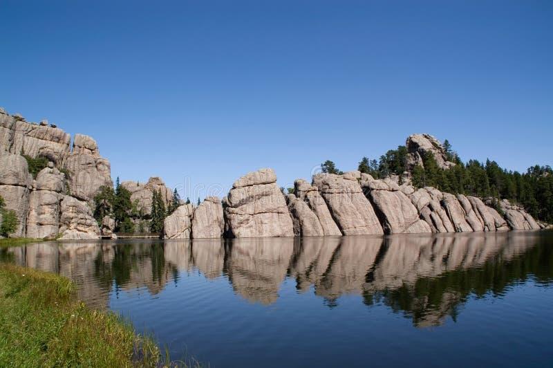 Lago Sylvan, Dakota del Sur imagen de archivo