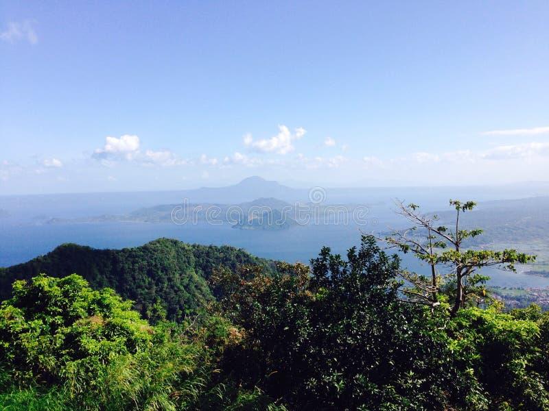 Lago Taal imagenes de archivo