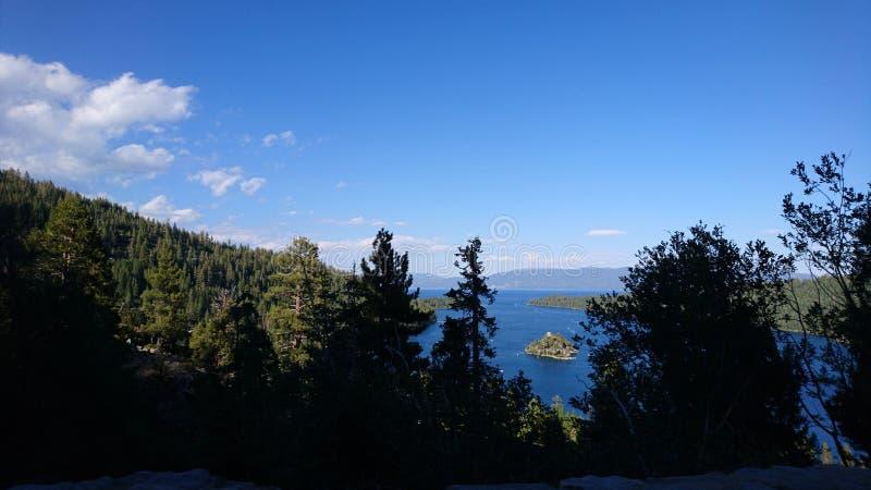 Lago Tahoe fotografia de stock