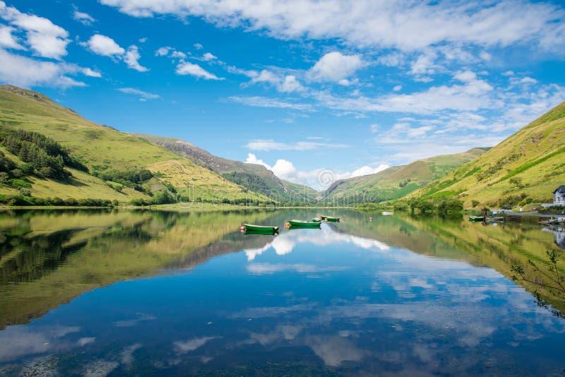 Lago Tal-y-llyn fotografie stock