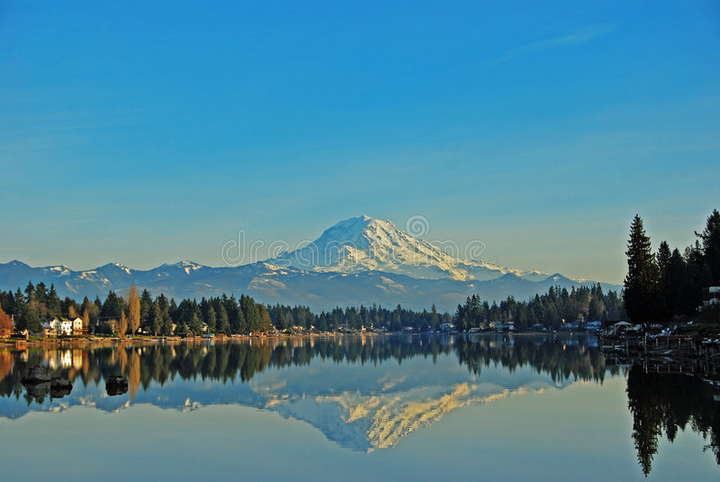 Lago Tapps immagine stock libera da diritti