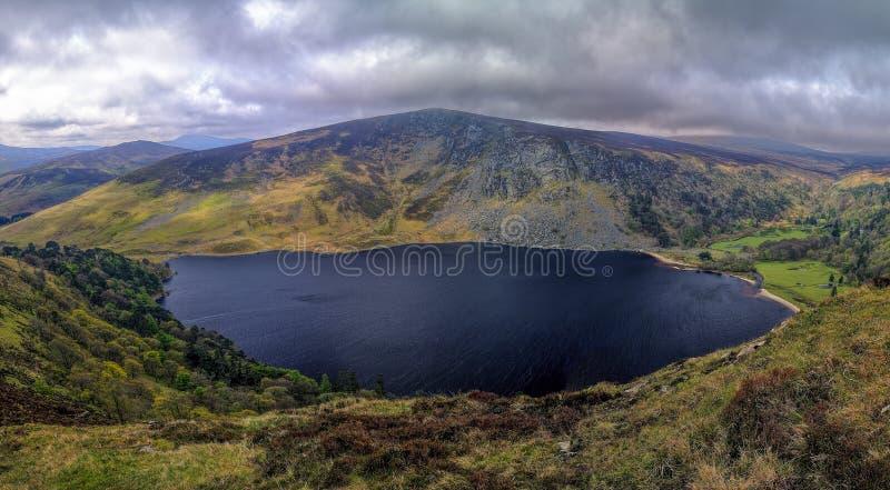 Lago Tay do â das montanhas de Wicklow (Lough Tay) imagem de stock royalty free