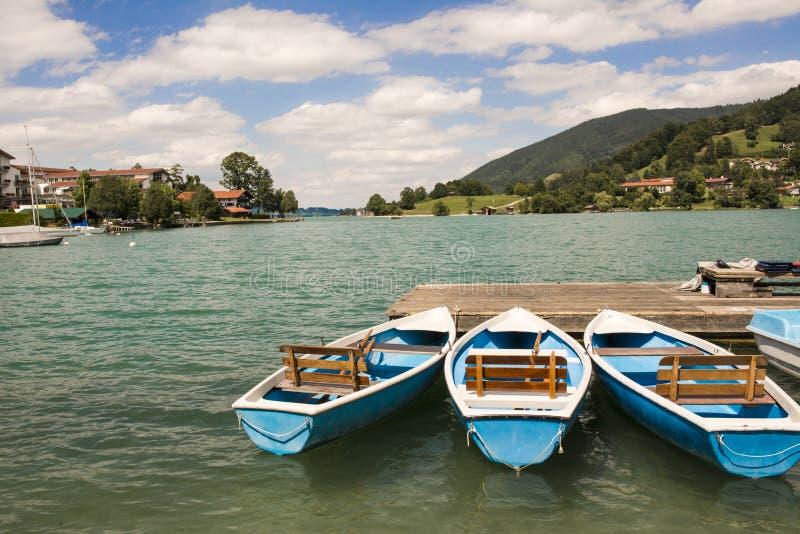Lago Tegernsee, Alemanha fotos de stock royalty free