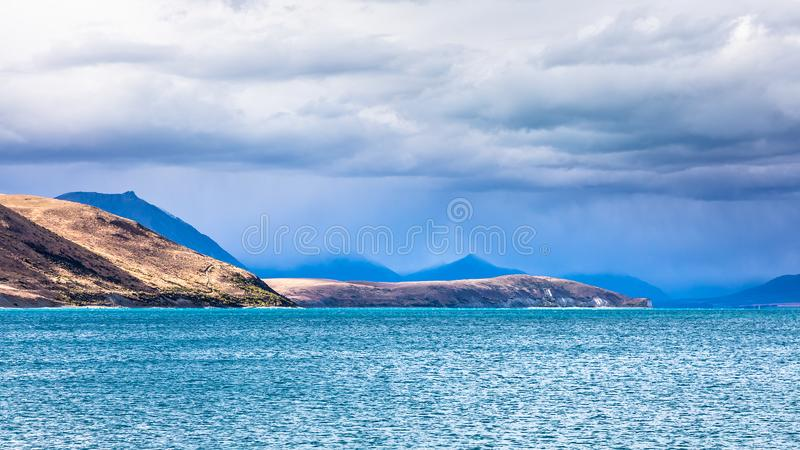Lago Tekapo Nueva Zelandia imágenes de archivo libres de regalías