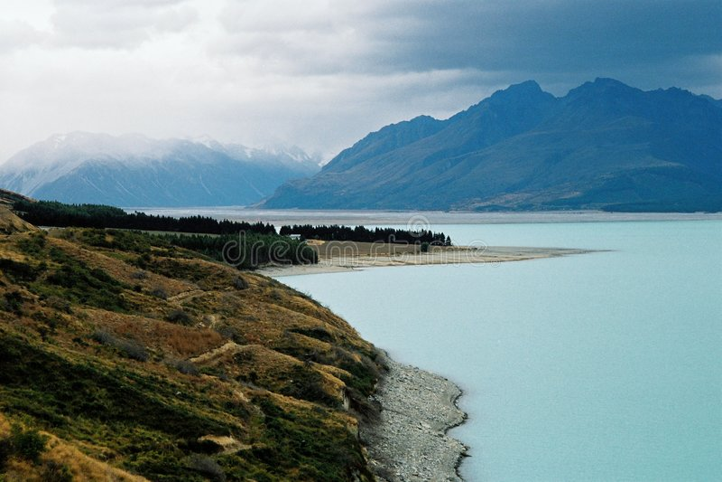 Lago temperamental fotografia de stock royalty free