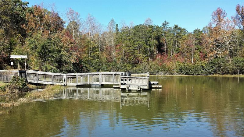 Lago Thom-A-Lex fotografía de archivo libre de regalías