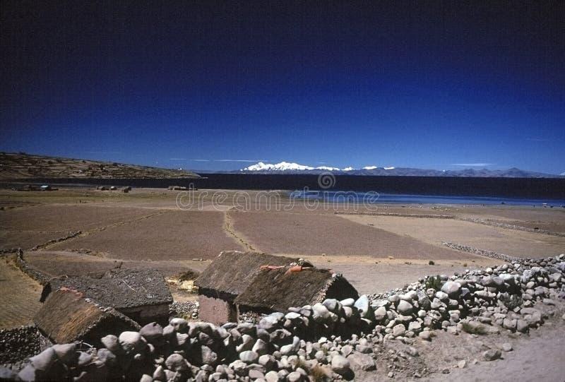 Lago Titicaca fotografia de stock
