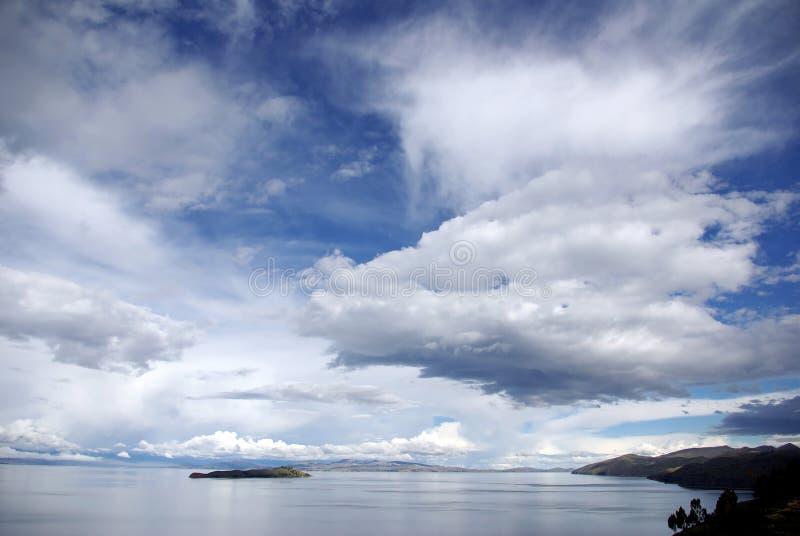 Lago Titicaca, Bolívia imagem de stock