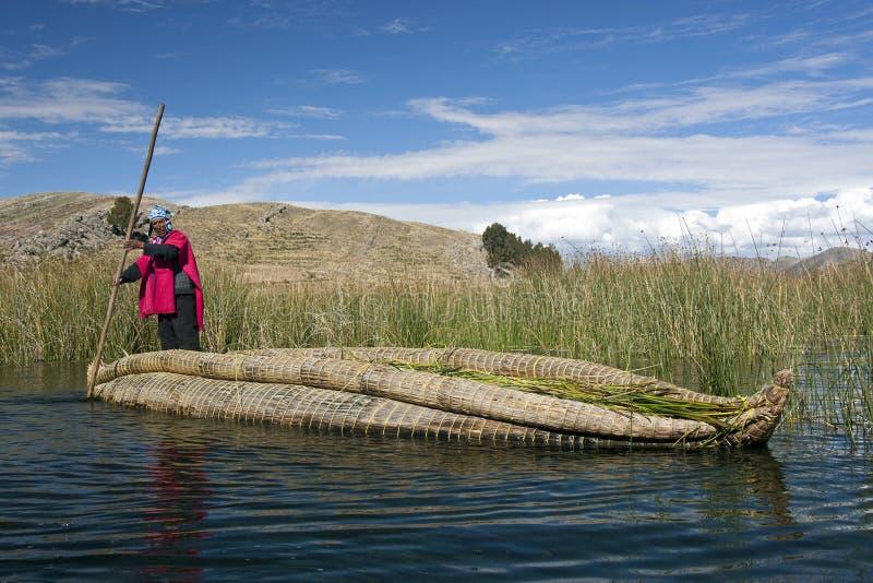 Lago Titicaca en Bolivia fotografía de archivo libre de regalías