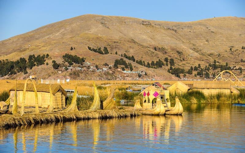 Lago Titikaka, Perù immagine stock