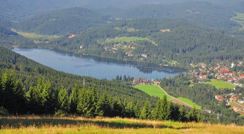 Lago Titisee, bosque negro, Alemania foto de archivo