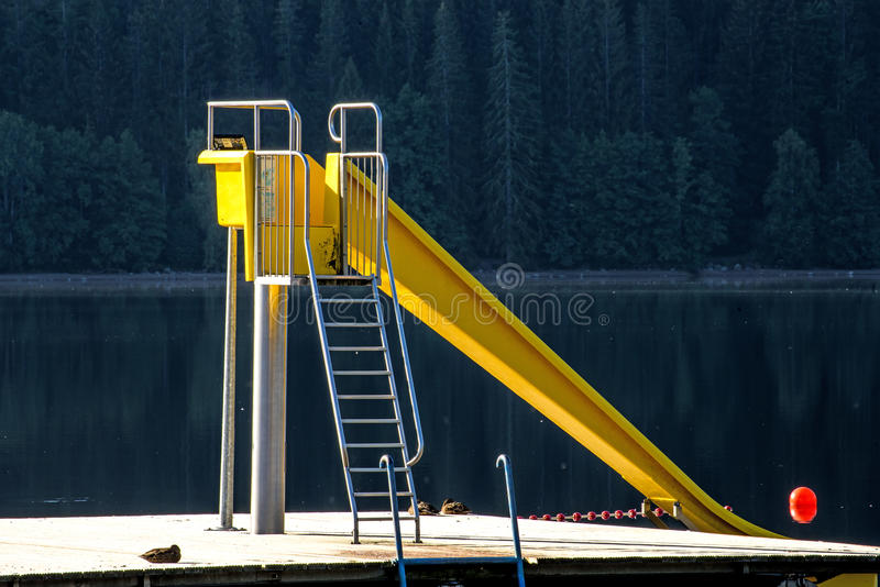 Lago Titisee, Forest Germany negro foto de archivo