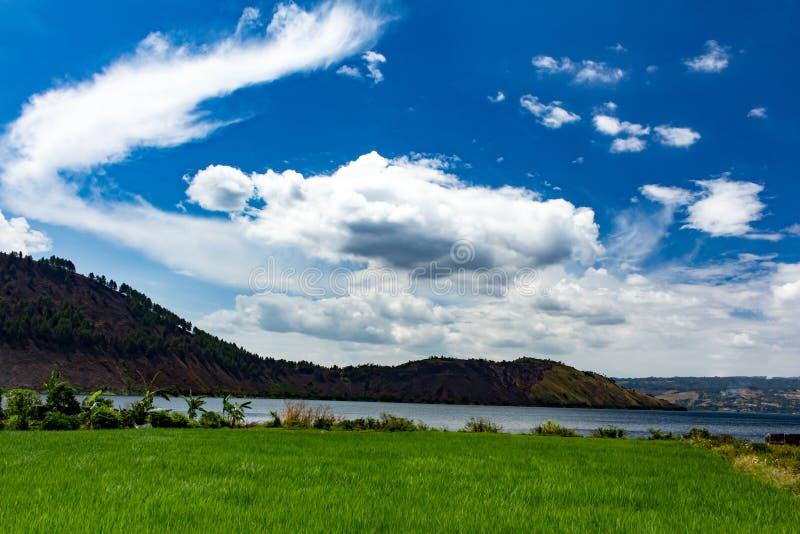 Lago Toba fotografia de stock