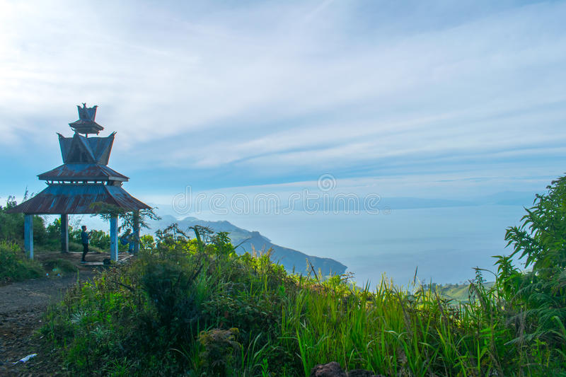 Lago Toba imagen de archivo