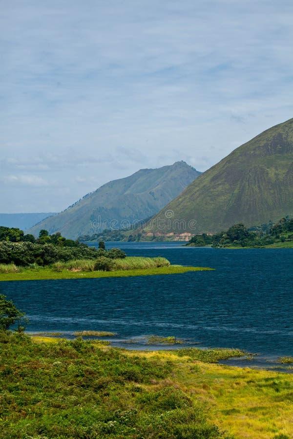 Lago Toba, Indonesia immagine stock libera da diritti