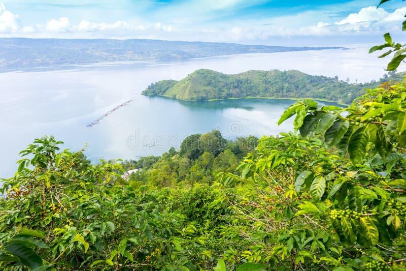 Lago Toba, Indonesia foto de archivo libre de regalías
