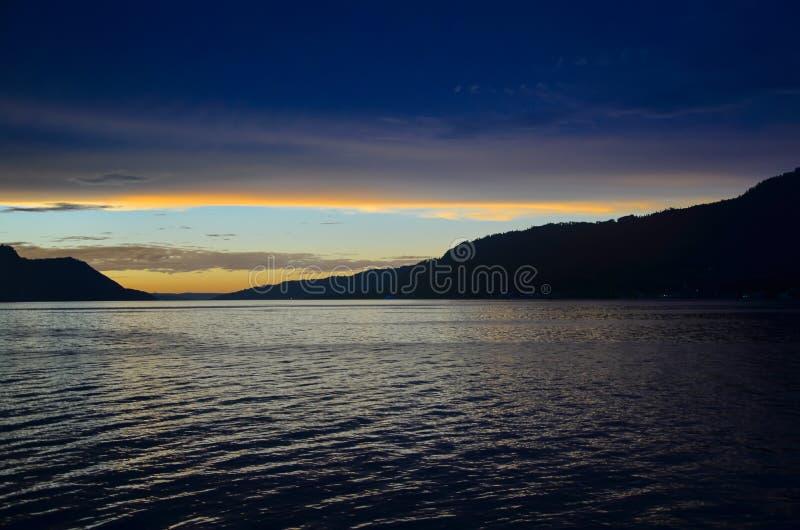 Lago Toba, Sumatra norte, Indonésia foto de stock