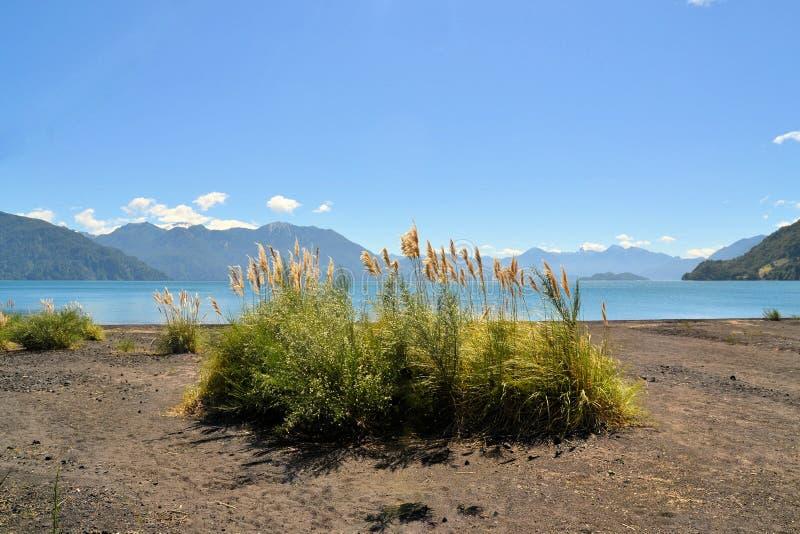 Lago Todos Лос Сантос, Патагония, Чили стоковая фотография
