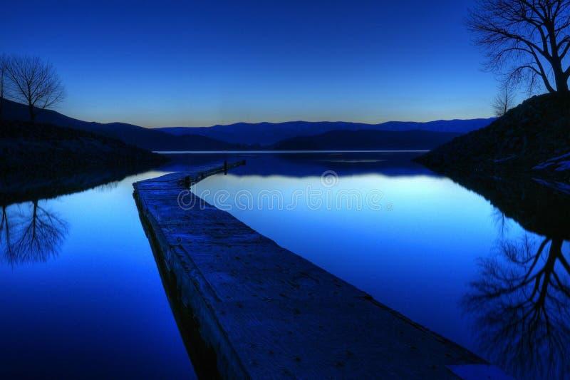 Lago Topaz imágenes de archivo libres de regalías