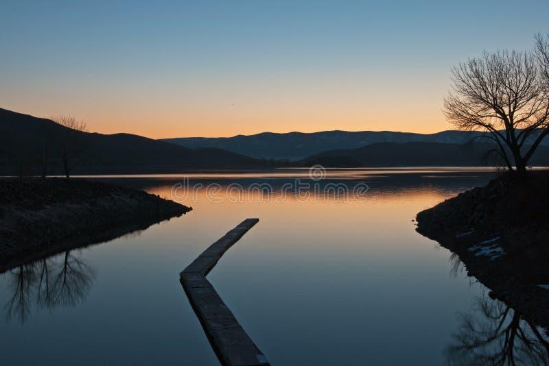 Lago Topaz imagen de archivo