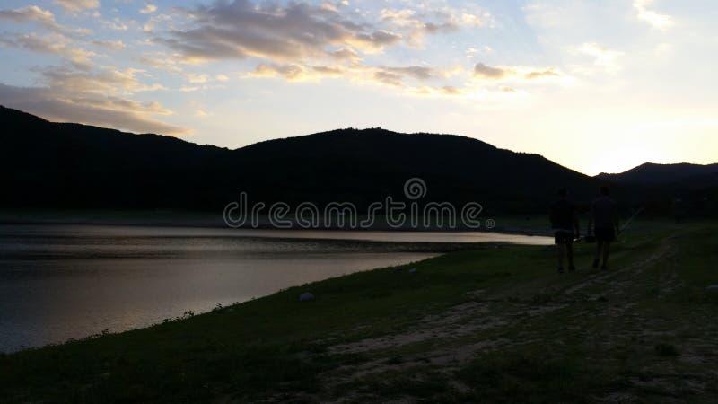 Lago Topolnica, Bulgaria immagine stock libera da diritti