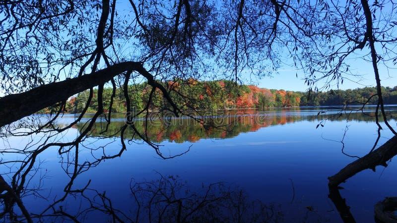 Lago Toronto Richmond Hill dam fotos de stock royalty free