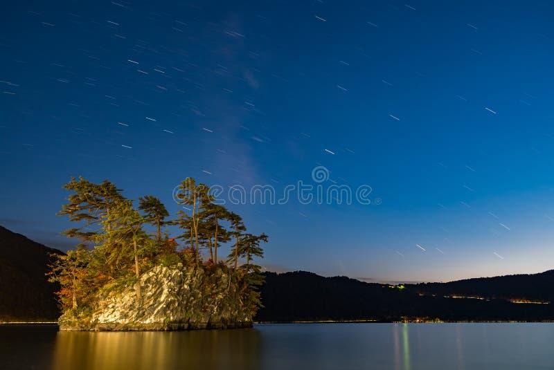 Lago Towada con sentido lechoso imagenes de archivo