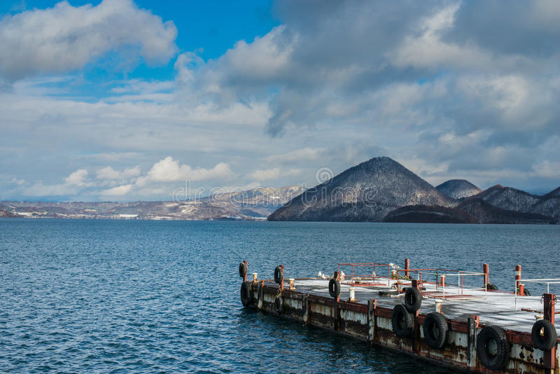 Lago Toya fotografia stock libera da diritti