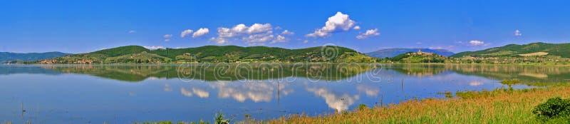 Lago Trasimeno fotografie stock libere da diritti
