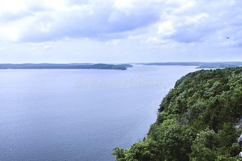 Lago Truman en Warasaw Missouri los E.E.U.U. foto de archivo libre de regalías