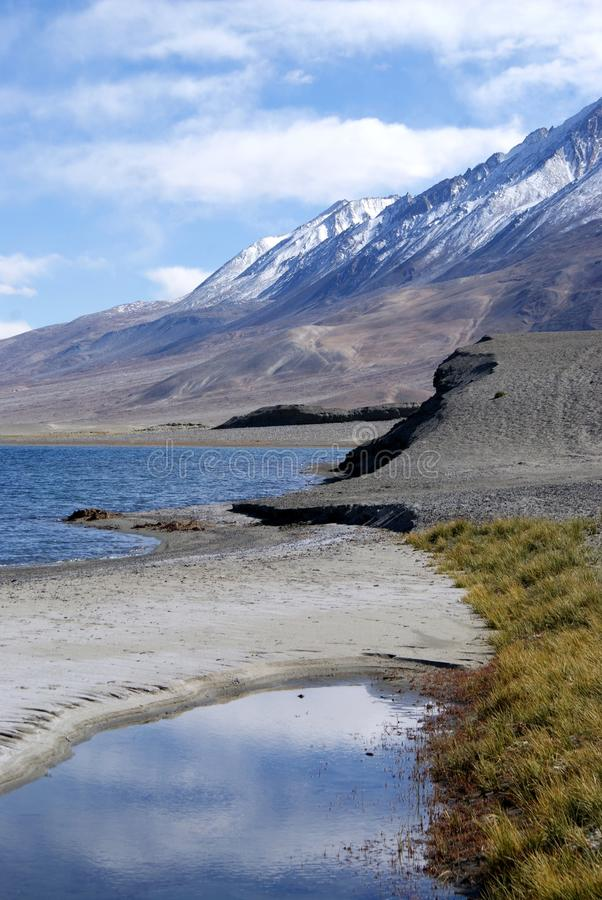 Download Lago Tso De Pangong Nos Himalayas Imagem de Stock - Imagem de água, azul: 16852363