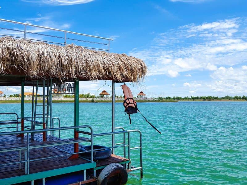 Lago tung Kula em Surin fotografia de stock