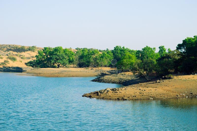 Lago Tungarli, Lonavala, maharashtra, la India fotos de archivo libres de regalías